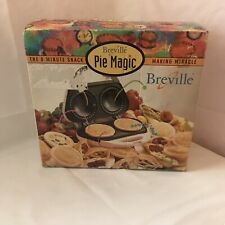 Breville Magic Pie Maker The 8 Minute Snack Making Miracle(new never used)