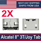 """Micro USB Charging Port Connector For Alcatel 8"""" Tablet 3T 9027W Joy Tab 9029W"""