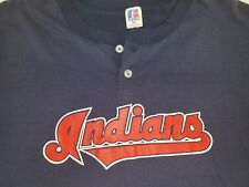 Vintage RUSSELL ATHLETIC T-Shirt CLEVELAND INDIANS Men's XXL 50/50 MADE IN USA