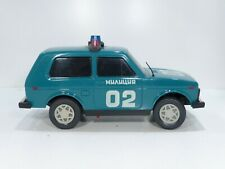 Lada Niva Police Spielzeug Auto Toy Car 80er Jahre Friktion 24cm Made in Russia
