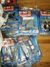 1/32 F-14 Tomcat Built Hachette Issue 1 To 77