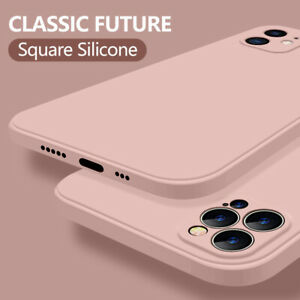 Liquid Silicone Soft Phone Case Cover For iPhone 13 Pro Max 12 11 XR XS X 8 7 6S