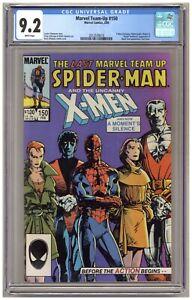 Marvel Team-Up 150 (CGC 9.2) Spider-Man; X-Men; Last issue; Barry Smith-c A670