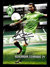 9 Autogrammkarten Werder Bremen 2011-12 Original Signiert+A 158257