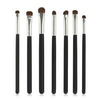 7 x Professional Eyeshadow Brush Into The Shadow Eye Makeup Make Up Brushes