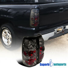 2003-2006 Chevy Silverado 1500 2500 Tail Lights Brake Lamp Smoke