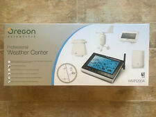 Weather station: Oregon Scientific WMR200A, complete w/ extras, used and working