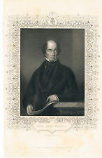 ENGRAVING LORD JOHN RUSSELL FOREIGN SECRETARY DURING THE CRIMEAN WAR