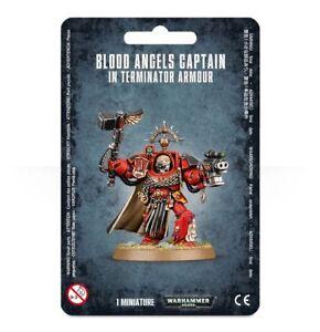 Blood Angels Captain Terminator Space Marine Warhammer 40K Armor Thunder Hammer