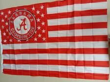 Alabama Crimson Tide flag stars and Striped Deluxe Banner Man Cave 3x5Feet