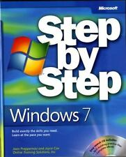 Step by Step: Windows® 7 Pack by Joan Preppernau, Inc. Staff Online Training...