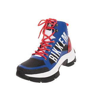 RRP €185 BIKKEMBERGS Hiking Shoes Size 42 UK 8 US 9 Chunky Sole Padded Topline