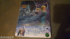 Frozen 3D+2D Blu-Ray Kimchidvd quarter-slip STEELBOOK NEUF & sealed-222/300