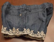 CELEBRITY PINK Shorts Blue Girls Size 10 NWOT