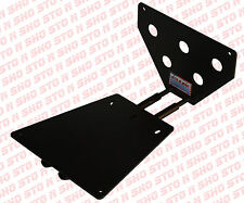 2010-2012 Ford Mustang Shelby GT500 Removable Front License Plate Frame Bracket