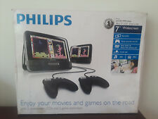 "Philips PD7012G 7""Dual Screen portable DVD player/parts only"