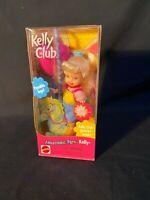 "NIP 2000 Mattel Barbie Kelly Amusement Park ""Kelly"" On Carousal Horse 28391"