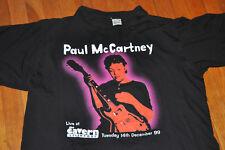 Paul McCartney concert tee shirt – One on one world tour Liverpool black XL