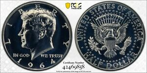 1964 Kennedy 50C, Accented Hair FS-401, PCGS PR67, Just Graded 7/21, Gold Shield