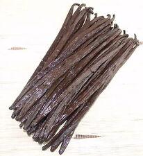 100 gramme  de gousses de vanille Bourbon de Madagascar 18-20 cm qualité Gourmet