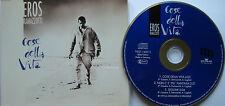 EROS RAMAZZOTTI    ~~~   COSE DELLA VITA  ~ MCD   ★ 3 Track Maxi CD ★