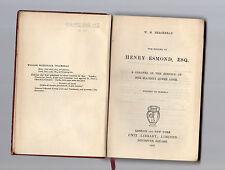 the history of henry esmond,esq - w.m.thacckeray - 1903