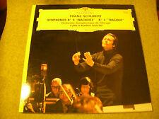 LP SCHUBERT-SYMPH 8 et 4-MARIA GIULINI & Orch CHICAGO-DEUTSCH GRAM 2531047