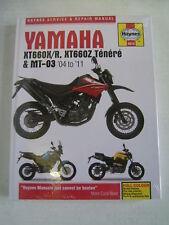 YAMAHA HAYNES MANUAL XT660 TENERE MT-03 XT 660 XT660R