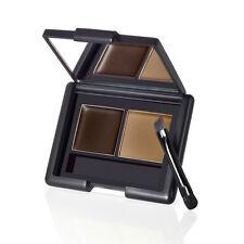 ❤ ELF eyebrow kit in dark with powder, wax, and brush ❤