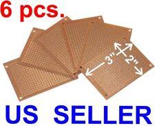 6 Pcs 2x3 5x7cm Prototyping Pcb Printed Circuit Board Prototype Breadboard