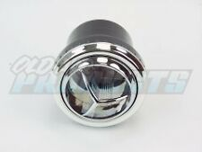 Chrome Round Tri-Vane A/C Heater Vent Outlet Louver for 2 1/2 Inch Hose -NEW-D27