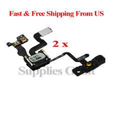 Proximity Sensor Power Button Flex Cable + Earpiece Speaker For iPhone 4S Lot 2