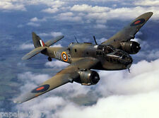 """Model Airplane Plans (FF) : Bristol Beaufort I 1/19 Scale 37"""" Bomber for .049s"""