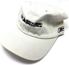 Reebok ING Bay to Breakers 12K Run Jog Dad Slouch Hat Cap Adjustable Fit Cream