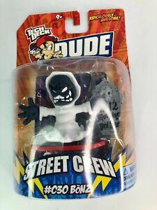 Tech Deck Dude Street Crew #030 Bonz - 2008 Release - New & Sealed