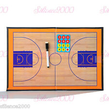 Magnetic Basketball Coaching Board Dry Erase Clipboard Tactical Kit
