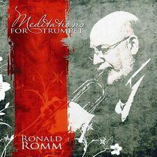 Ronald Romm - Meditations for Trumpet [New CD]