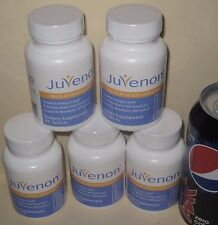 "Juvenon Tablets  ""The Pill That Can End Aging"", 5 bottles for the price of 4"