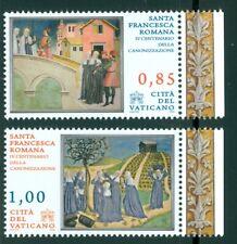 2009 Vatican City Sc# 1413-14: Canonization of St. Francesca Romana MNH