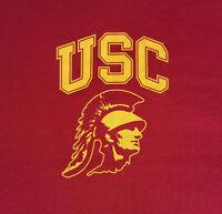 USC Trojans Logo Large T Shirt NWOT NEW Football NCAA University INV1809