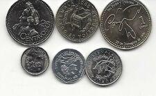 Guatamala serie 6 munten