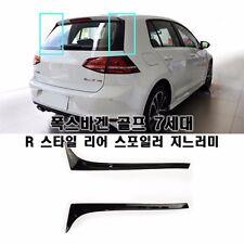 R-Line Style Black Rear Side Spoiler For Volkswagen Golf 7 MK7 VII 2013~2016