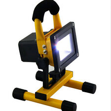 30/50W Portable Work Light Rechargeable LED Flood Spot Camping Hiking Lamp