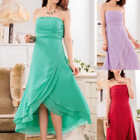 Womens Ladies Wedding Party Evening Cocktail Formal Dress Size 12 14 16 18 #3389