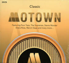 Classic Motown (Marvin Gaye/The Temptations/Commodores) 3 CD-Set -Neu & OVP-