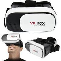 3D Virtual Reality VR Box 2.0 Glasses Smart Phone Universal Headset Goggle Video