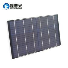 10w Solar Panel 18v PET Poly Module Cell Portable Charger for 12V Battery Light