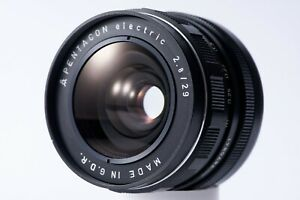 Pentacon Electric 29mm f/2.8 vintage wide angle M42 mount lens EXC+ Bubble Bokeh