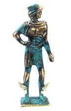 Ancient Greek Olympian God Pantheon Sculpture Statue Bronze Hermes Messenger God