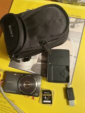 Sony Cyber-shot DSC-W570 16.1MP Digital Camera - Silver w/ Accessories